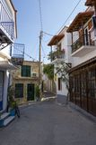 Beautiful traditional old house in Poros island. In Greece Stock Photography