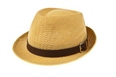 Beautiful traditional Panama hat Royalty Free Stock Photos