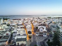 Traditional portuguese village of Olhao, Algarve, Portugal Stock Images