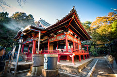 Beautiful traditional shrine at Tokyo, Japan Stock Photos