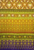 Beautiful of traditional thai fabric. Pattern background Royalty Free Stock Photography
