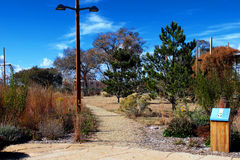 A Beautiful Trail. A trail leads through a beautiful part of the city Royalty Free Stock Images