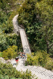 Beautiful Trail, Path, Way, Mountain Road In Verdon Gorge In France Royalty Free Stock Images