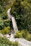 Beautiful Trail, Path, Way, Mountain Road In Verdon Gorge In France Stock Photography