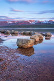 Loch Morlich - Scotland  Royalty Free Stock Image