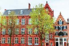 Beautiful tranquil scene of the city Amsterdam. Royalty Free Stock Photos