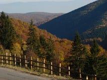 Wild Transylvanian autumn. Beautiful and wild Transylvanian autumn mountain landscape Stock Image