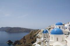 Beautiful travel destination, Santorini, Oia, Greece Stock Photos