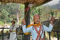 Religious Statue At Sikkim. A beautiful travel place with religious statue in a park at Sikkim Stock Photos