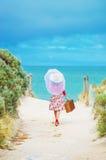 Beautiful  traveler Stock Image