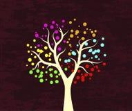 Beautiful tree design background Royalty Free Stock Image