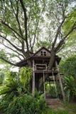 Beautiful tree house Stock Photography