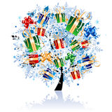Beautiful tree for your design Royalty Free Stock Images