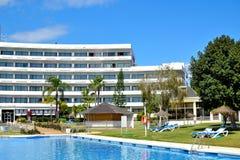 beautiful TRH Paraiso hotel in Estepona, Costa del Sol, Spain Stock Images
