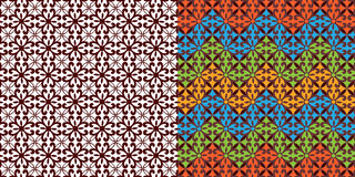 Beautiful Tribal weave pattern Royalty Free Stock Photos