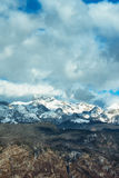 Beautiful Triglav mountain landscape Royalty Free Stock Images