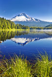 A beautiful trillium lake at oregon Royalty Free Stock Image
