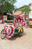 Beautiful Trishaw in Melaka Royalty Free Stock Photography