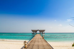 Beautiful tropical beach Stock Images