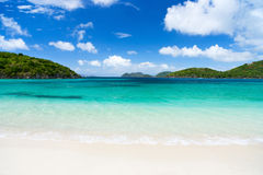 Beautiful tropical beach at Caribbean Stock Photography