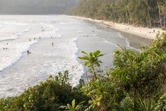 Beautiful tropical beach, Crystal Beach at koh kood island, trad Stock Photography