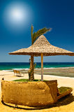 Beautiful tropical beach in the Egypt. Royalty Free Stock Image