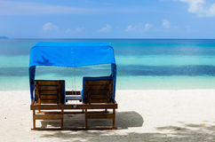 Beautiful tropical beach at exotic island Stock Photography