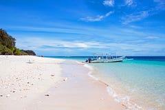 Beautiful beach on Gili Meno in Indonesia Royalty Free Stock Photo