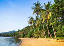 Beautiful tropical beach at island Koh Chang Royalty Free Stock Photography