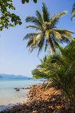 Beautiful tropical beach at island Koh Chang. Thailand Stock Photos