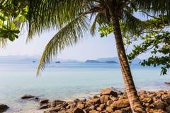 Beautiful tropical beach at island Koh Chang. Thailand Stock Photo