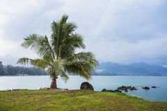 Beautiful tropical beach at island Koh Chang Stock Photo