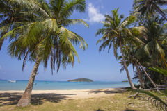 Beautiful tropical beach at island Koh Chang. Thailand Stock Images