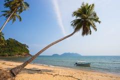 Beautiful tropical beach at island Koh Chang Stock Photos