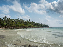 Beautiful tropical beach in Koh Kood island Stock Image