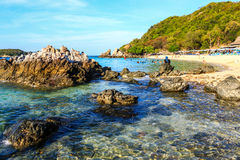 Beautiful tropical beach in Koh Larn, Thailand Stock Image
