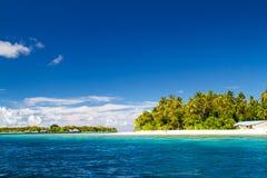 Beautiful tropical beach landscape in Maldives Stock Image