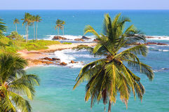 Beautiful tropical beach landscape Royalty Free Stock Photos
