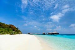 Beautiful tropical beach at Maldives Stock Photography