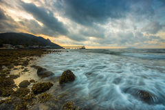 Beautiful tropical beach Stock Photos