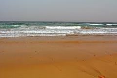 Beautiful tropical beach on paradise Island. Canary Island Fuerteventura Spain. Costa Calma Beach Afternoon shoot Stock Photos