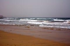 Beautiful tropical beach on paradise Island. Canary Island Fuerteventura Spain. Royalty Free Stock Images