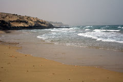 Beautiful tropical beach on paradise Island. Canary Island Fuerteventura Spain. Stock Photography