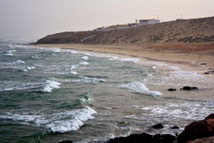 Beautiful tropical beach on paradise Island. Canary Island Fuerteventura Spain. Costa Calma Beach Afternoon shoot Royalty Free Stock Photo