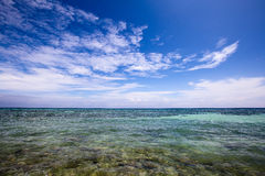 Beautiful tropical beach in  Philippines. Stock Photos