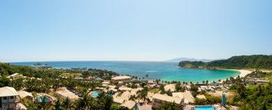 Beautiful Tropical Beach Resort Royalty Free Stock Image