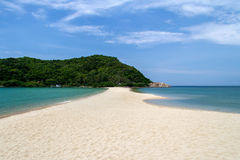 Beautiful tropical beach and sea blue sky in vacation summer day. Tropical beach and sea blue sky in vacation summer beautiful day at Koh Phangan thailand stock images