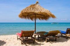 Beautiful tropical beach Stock Images