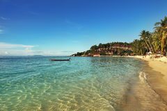 Beautiful tropical beach in Thailand Stock Photography