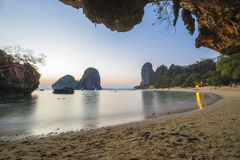 Beautiful tropical beach  in Thailand Stock Images